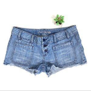 American Eagle Blue denim jean shorts 🍯